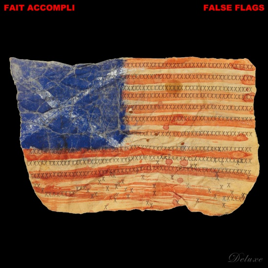 FALSE FLAGS CD COVER deluxe