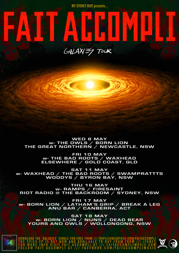 FAIT ACCOMPLI GALAXIES TOUR POSTER WEB 1
