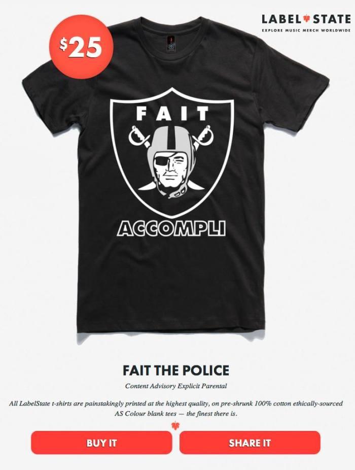 FAIT THE POLICE