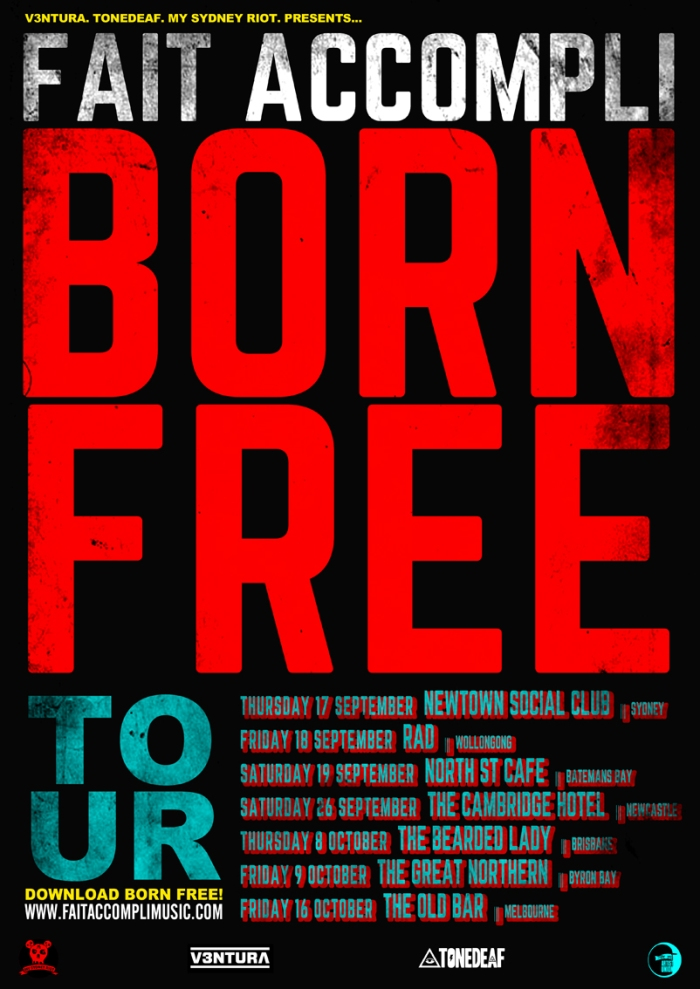 BORN FREE TOUR POSTER WEB